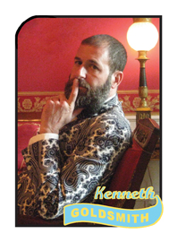 Kenneth Goldsmith Poetry Trading Card