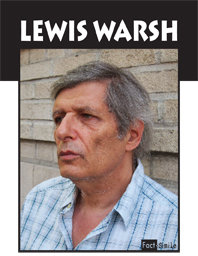 Lewis Warsh Poetry Trading Card