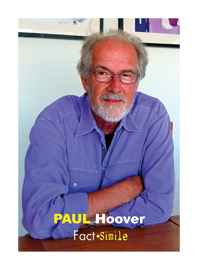 Paul Hoover Poetry Trading Card