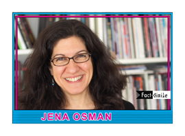 Jena Osman Poetry Trading Card