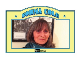 Norma Cole Poetry Trading Card