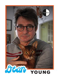 Dean Young Poetry Trading Card
