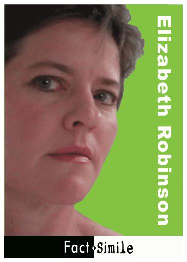 Elizabeth Robinson Poetry Trading Card