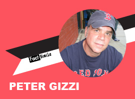 Peter Gizzi Poetry Trading Card