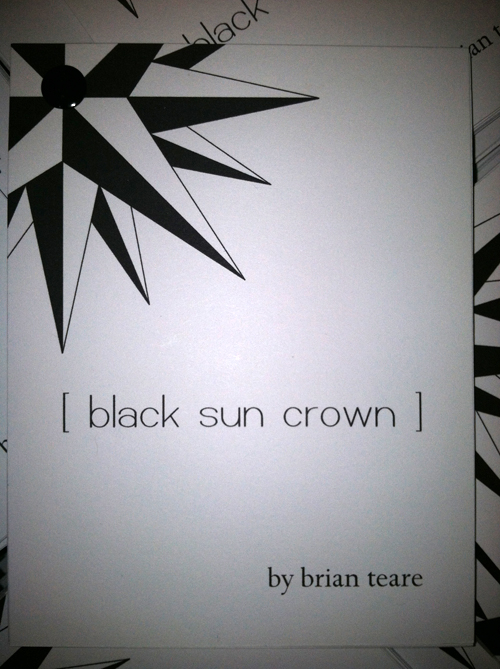 black sun crown by brian teare