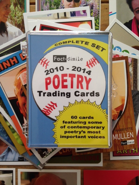 Poetry Trading Cards from Fact-Simile Editions