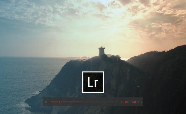 edit video in lightroom