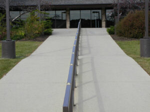Handrail Minders skateboard deterrents