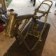 1971 Honda SL350 Motorsport frame stripped