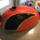 1971 Honda SL350 Motorsport Gas Tank Graphic