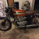 1973 Honda CB450 Before