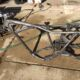 1973 Honda CB450 Frame Stripped