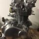 1973 Honda CB450 Polished Engine