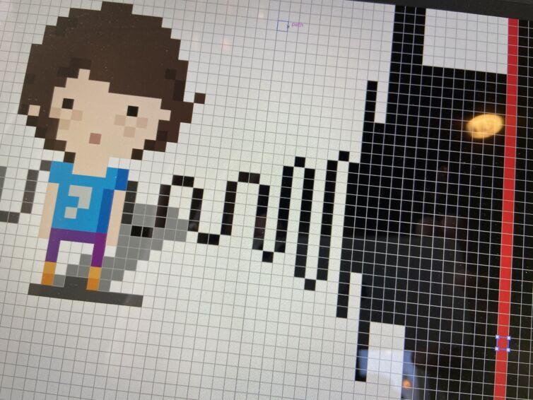 Genevieve the Fix 8bit art
