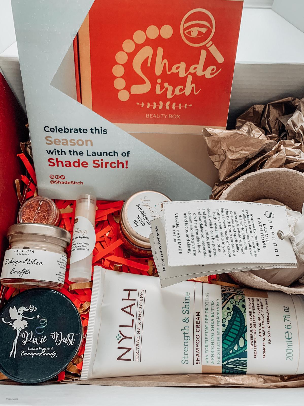 Shade Sirch Beauty Box Review
