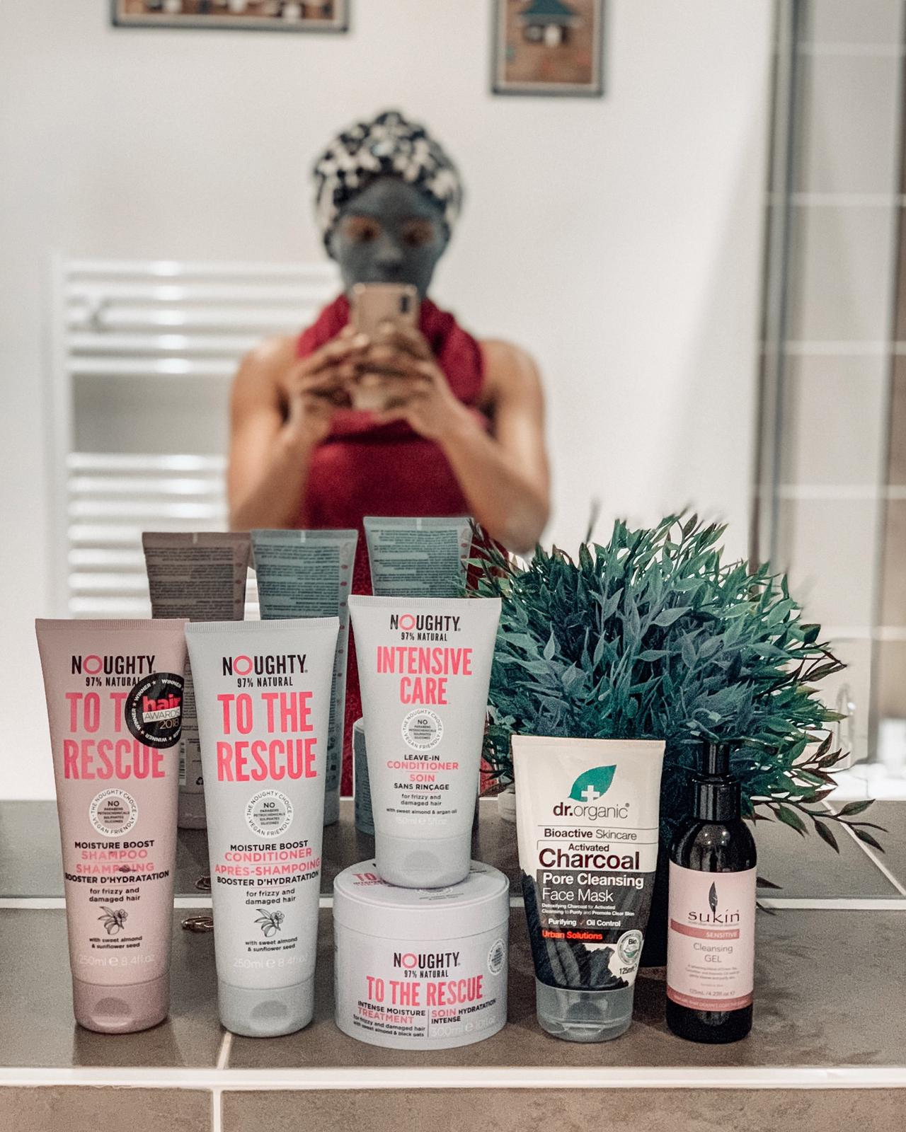 Selfcare Sunday Featuring Noughty Haircare