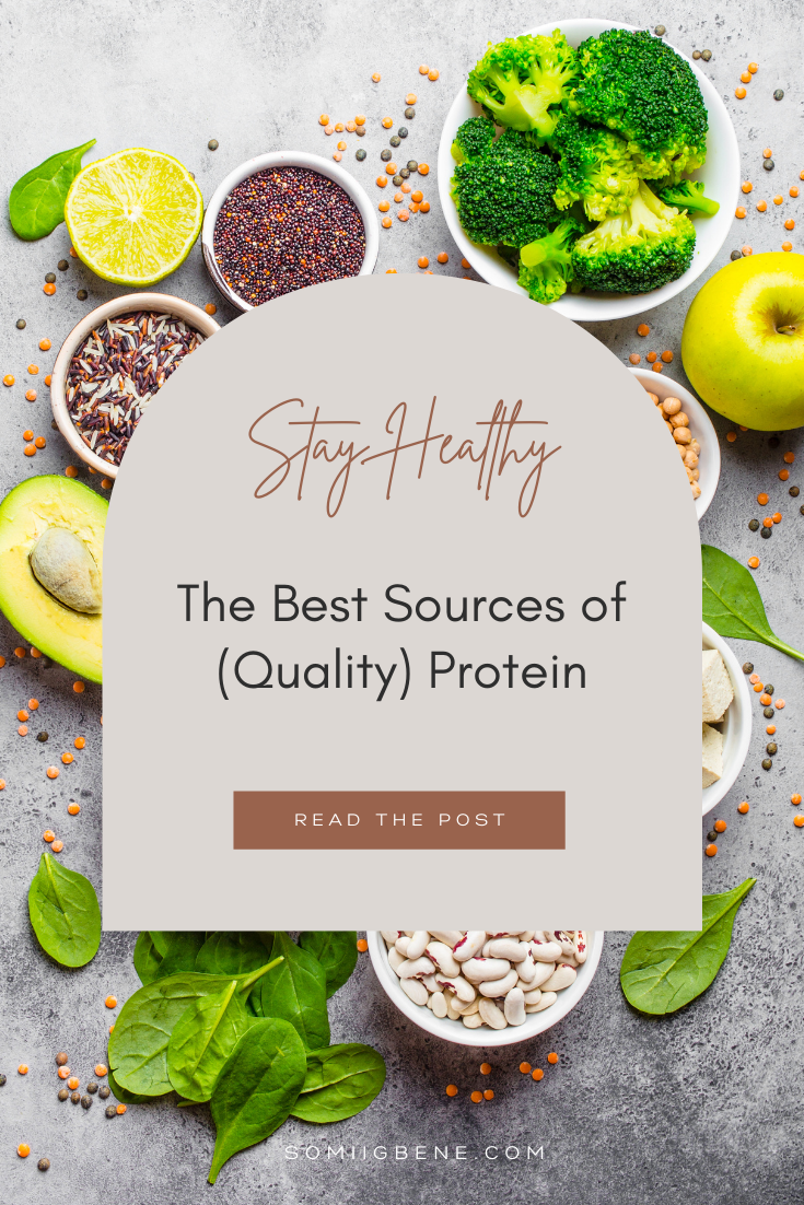 Best sources of quality protein