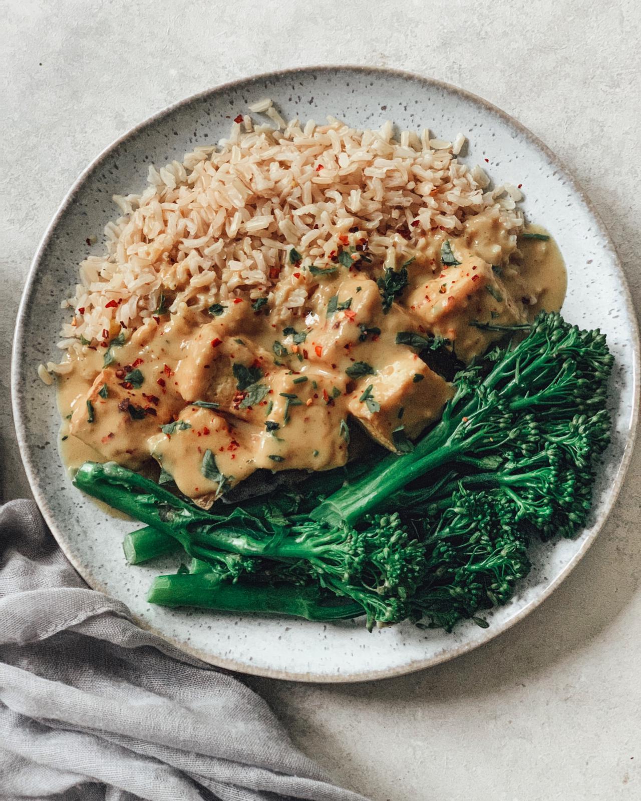 Peanut & Tofu Curry