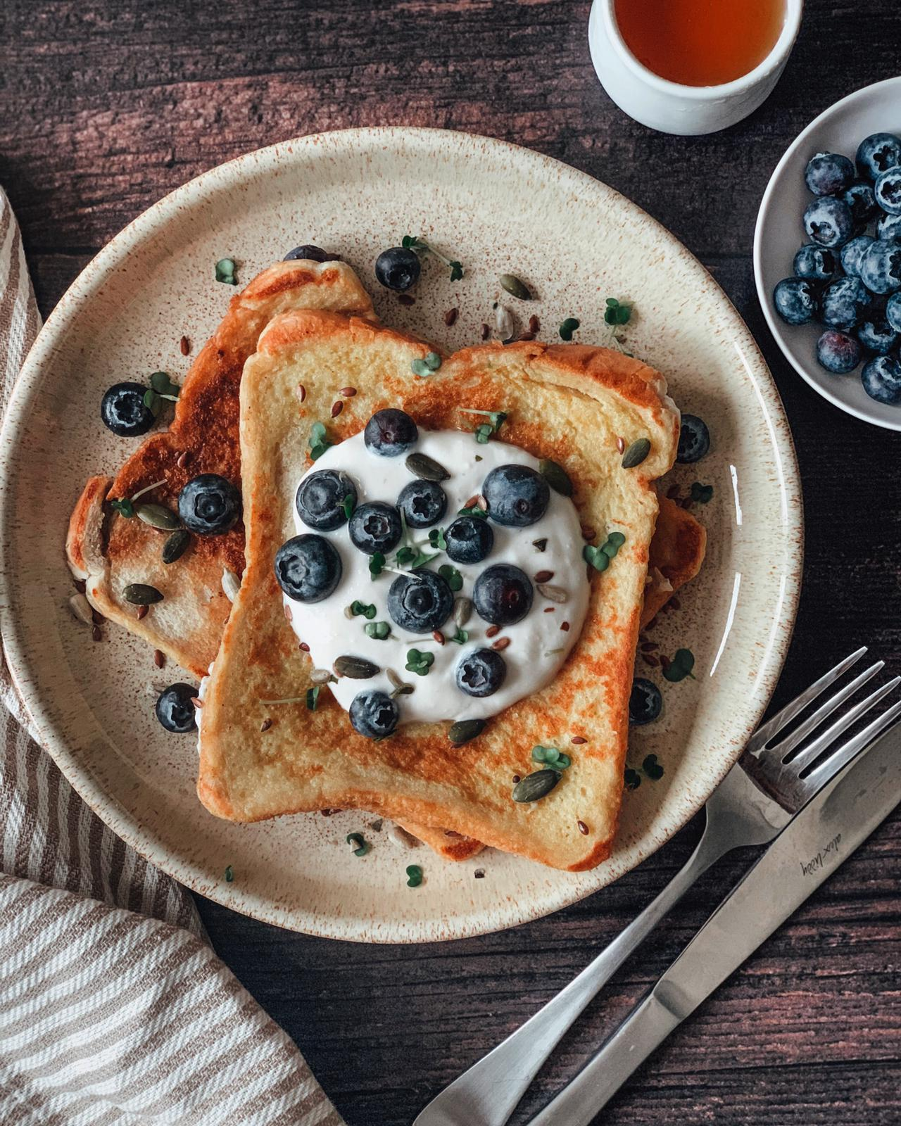 Healthy French Toast Breakfast Recipe
