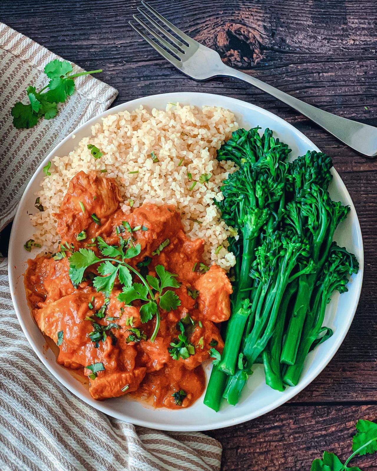 Tahini Chicken Curryy