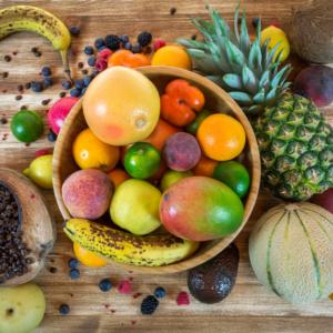 whole food plant based vegan grocery shopping list - fruit