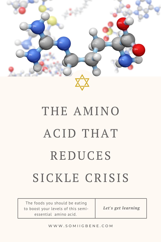 AMINO ACID - SICKLE CELL ANAEMIA