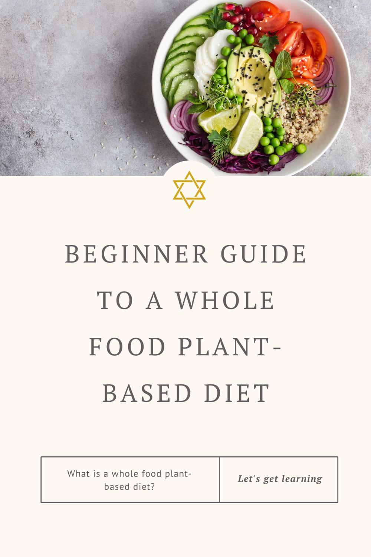 Beginner guide plant based vegan