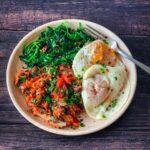 Sardines, Spinach & Eggs