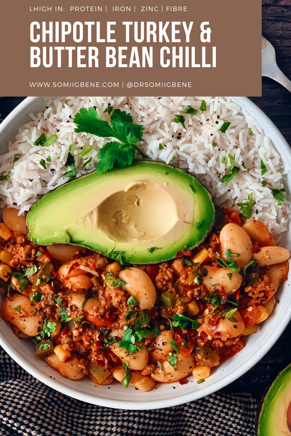 Chipotle Turkey and Butter Bean Chilli