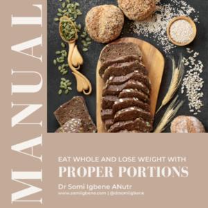 Proper portions manual