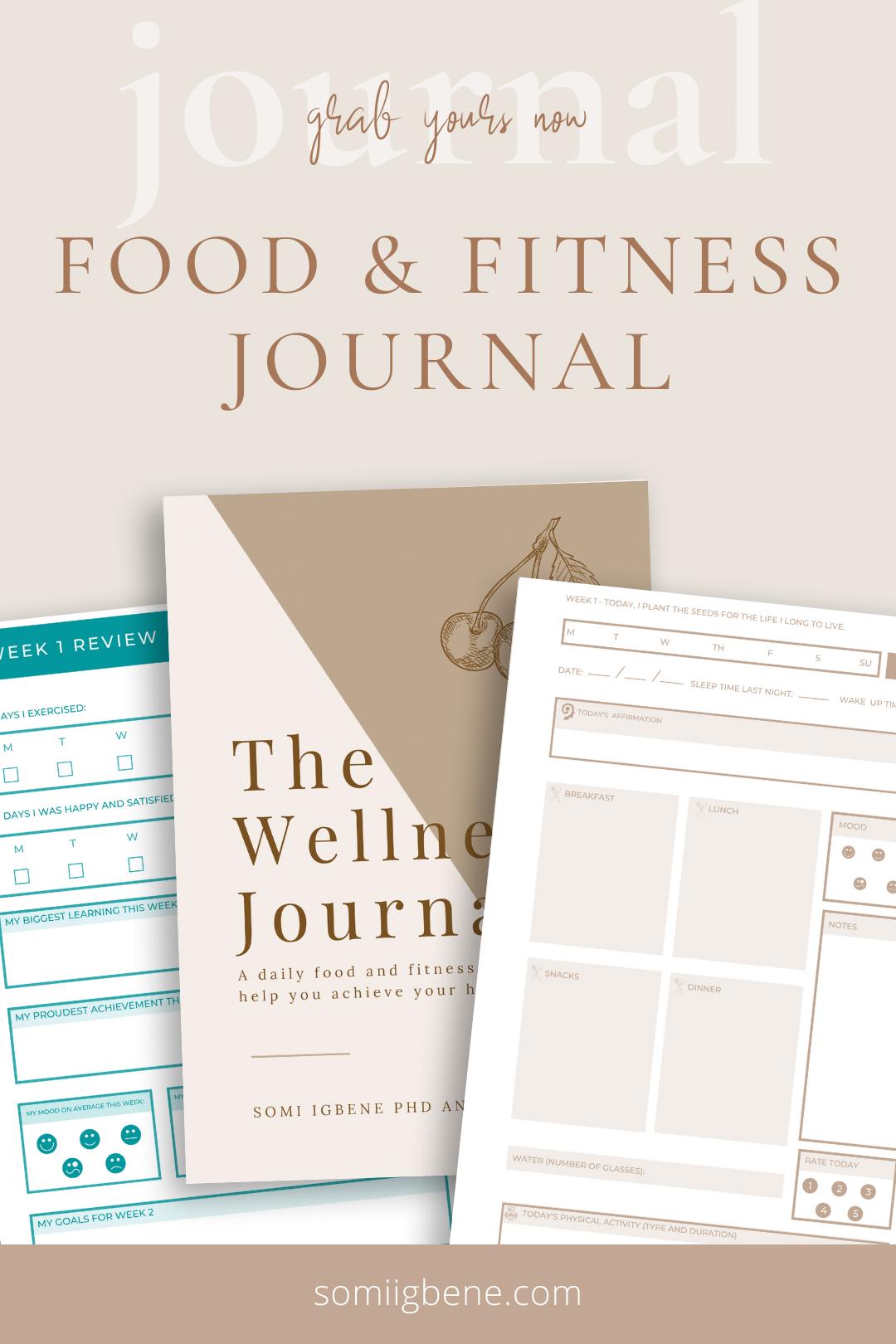 Food & Fitness Journal
