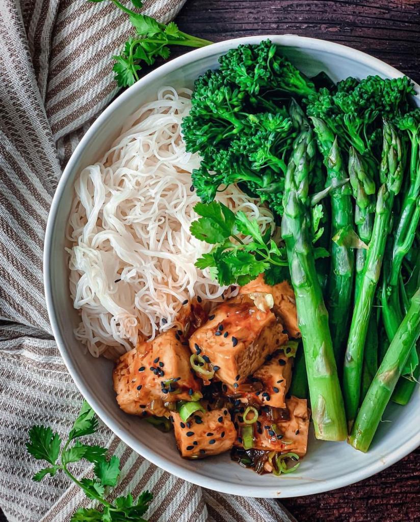 Tofu in Vegan Oyster Sauce | Somi Igbene