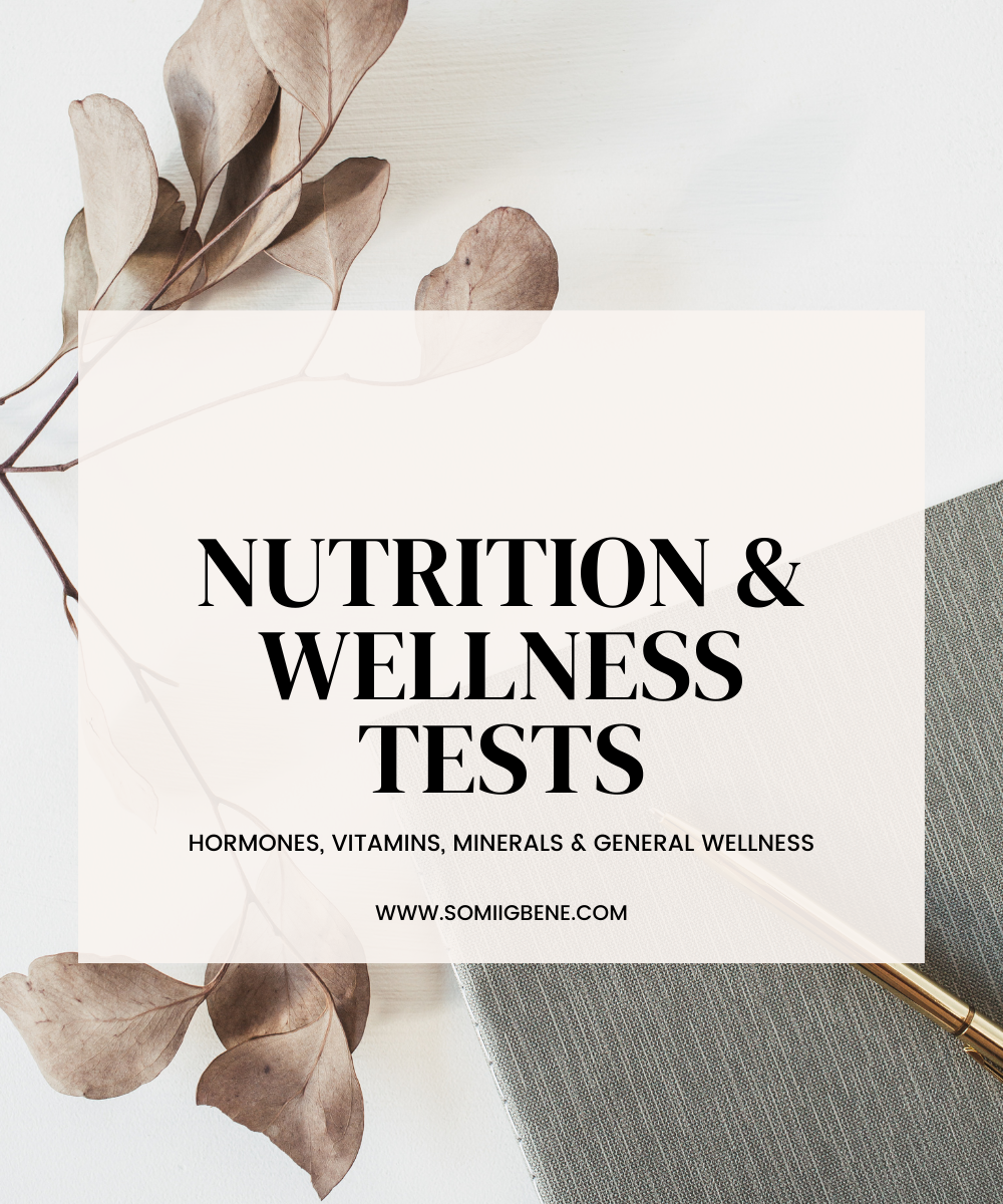 Nutrition & Wellness Tests