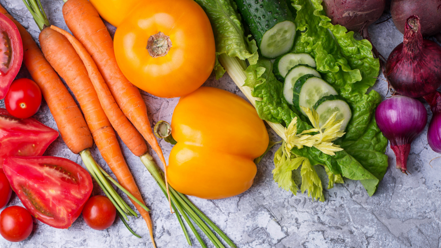 Rainbow vegetables - how to eat more vegetables