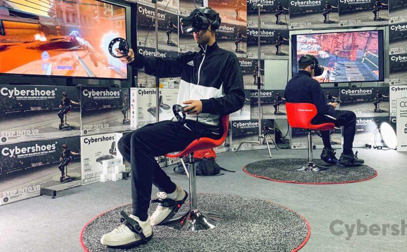 Cybershoes座式全向跑步機評測