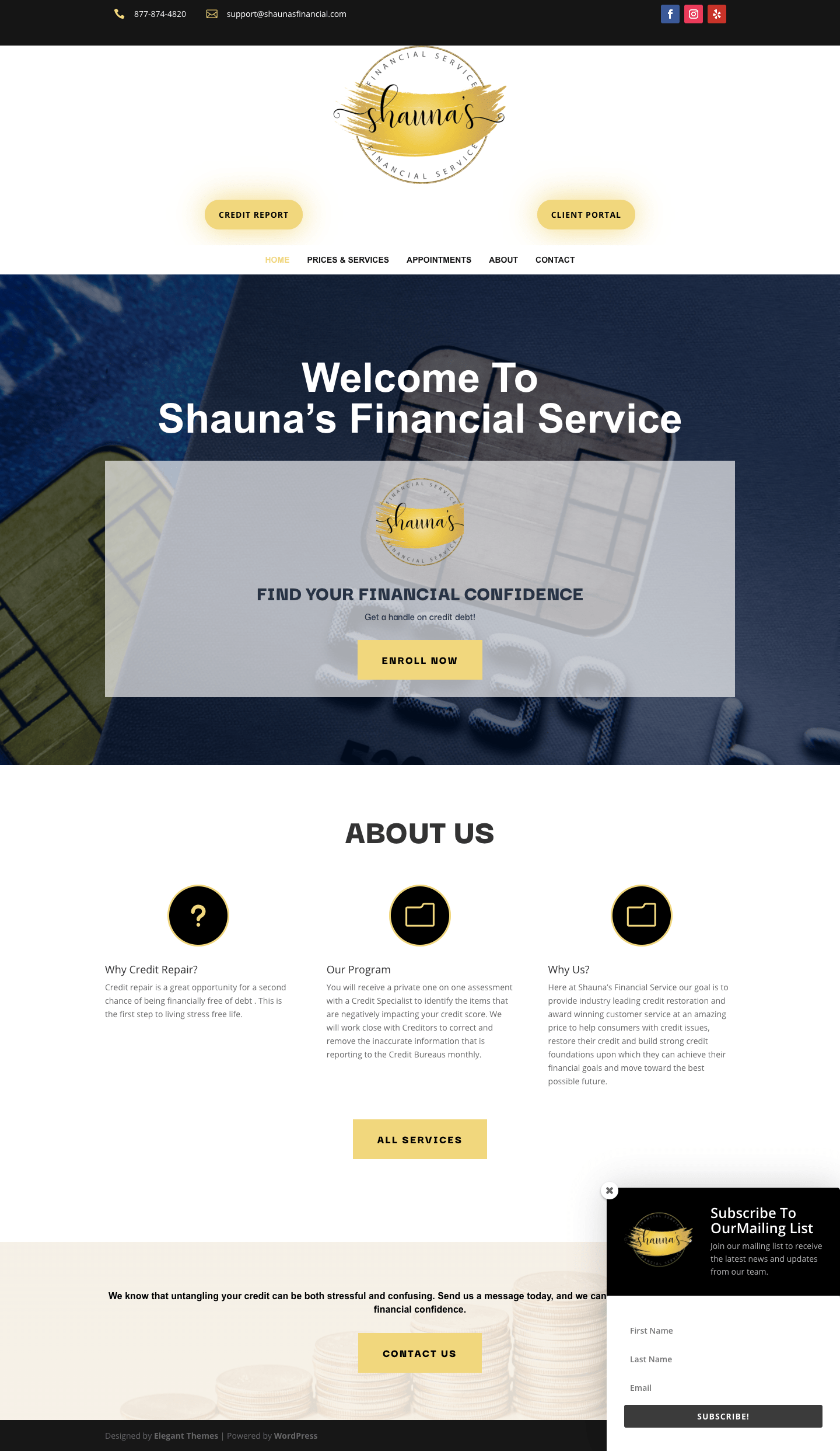 Shauna's Financial Service
