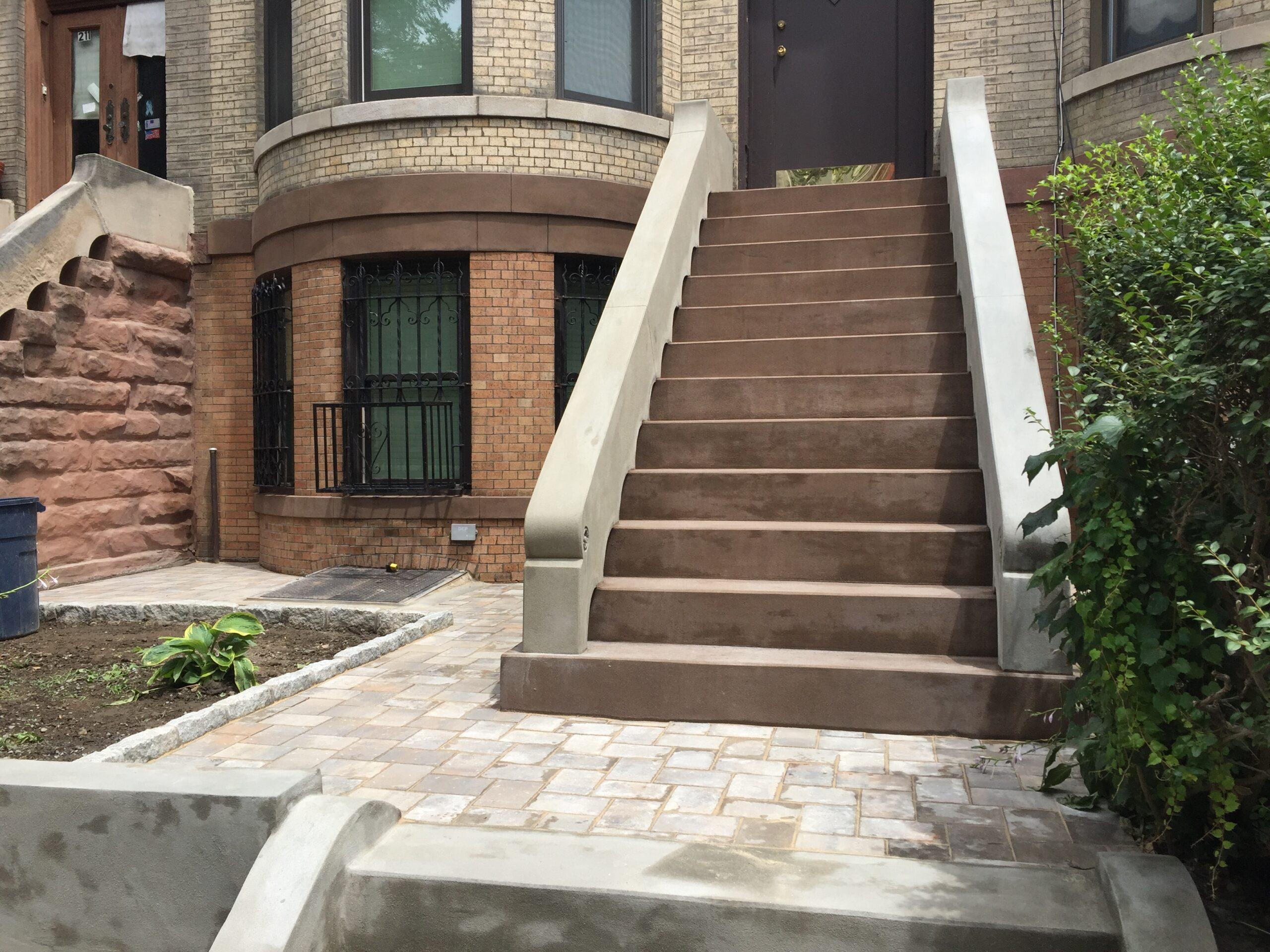 213 East 8th St- Kensington Brooklyn- Brownstone Step