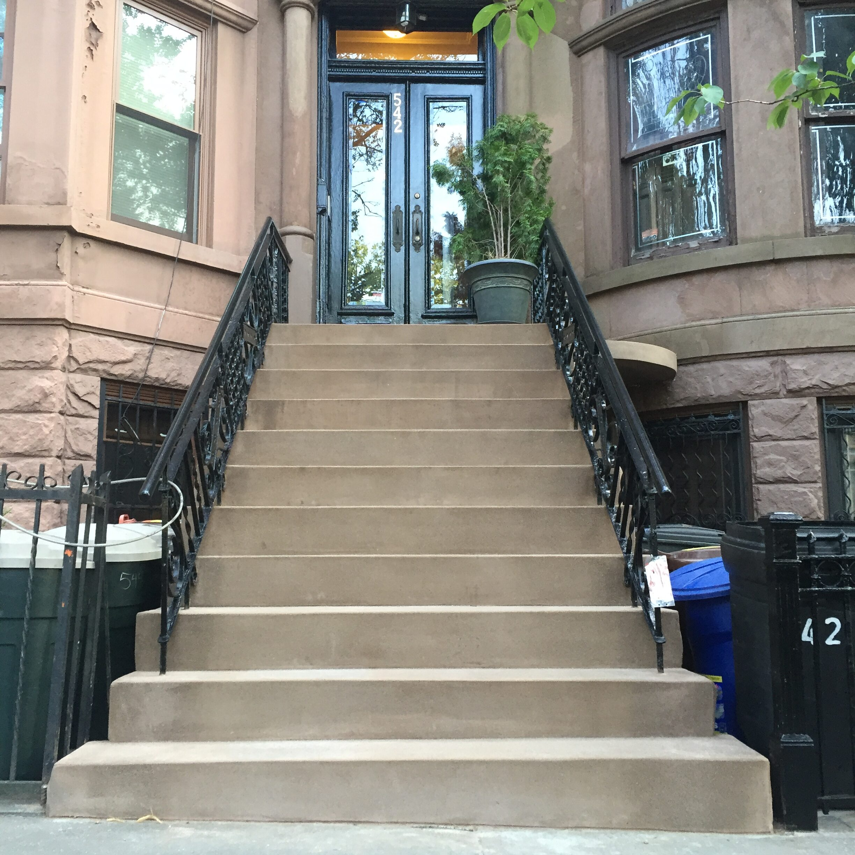 542 9th Street – Park Slope Brooklyn – Brownstone Step Restoration