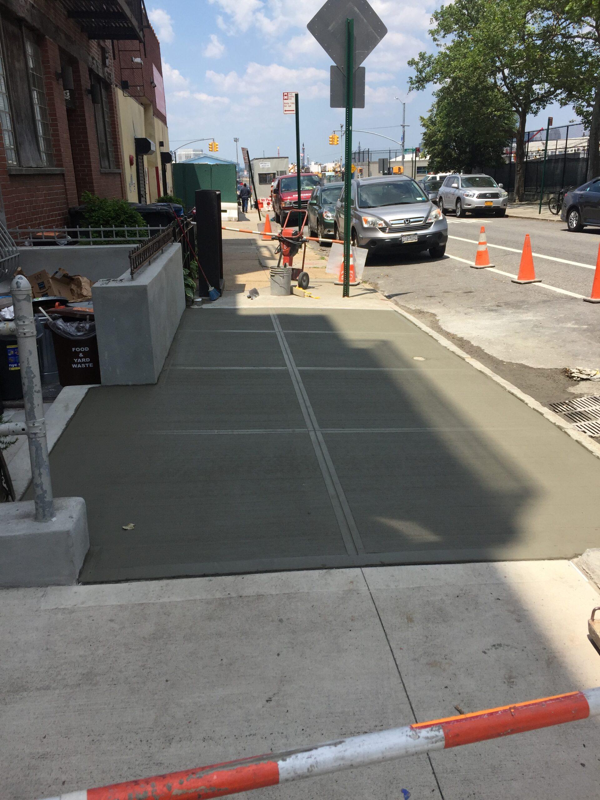82 Congress St- Cobble Hill- Sidewalk Restoration