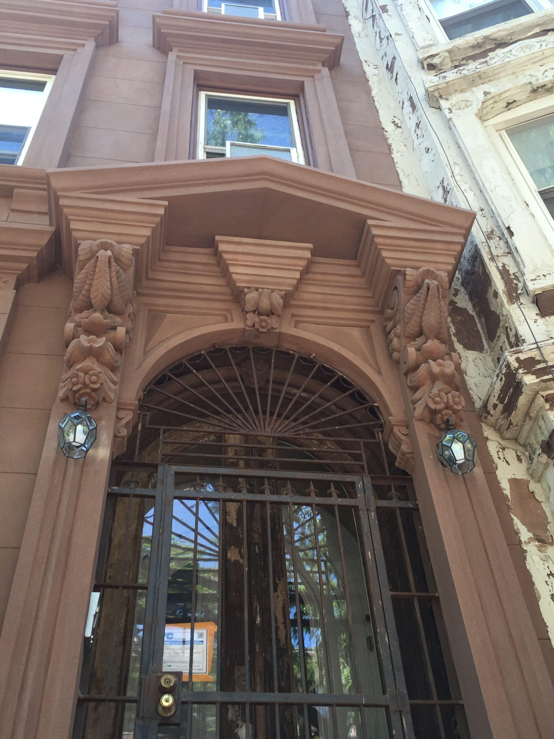 572 Washington Ave- Clinton Hill Brooklyn- Brownstone Facade Restoration