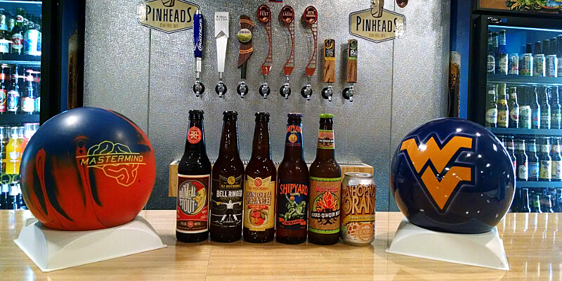 Photo of Bowling Alley Mountaineers Ball and Beer