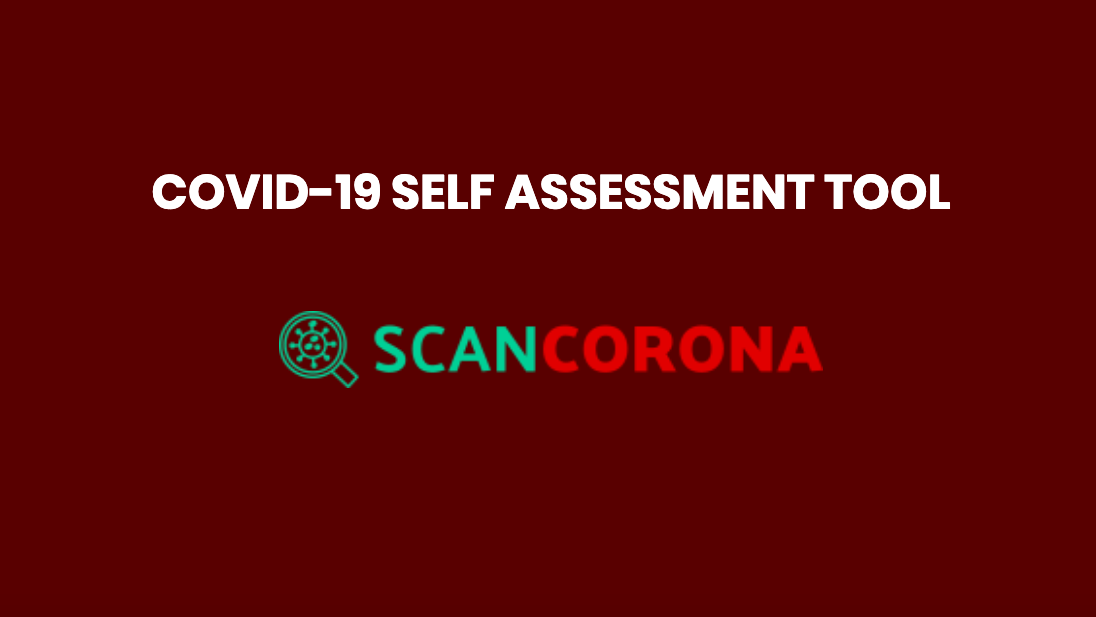 COVID-19 Self Assessment Tool – ScanCorona.com