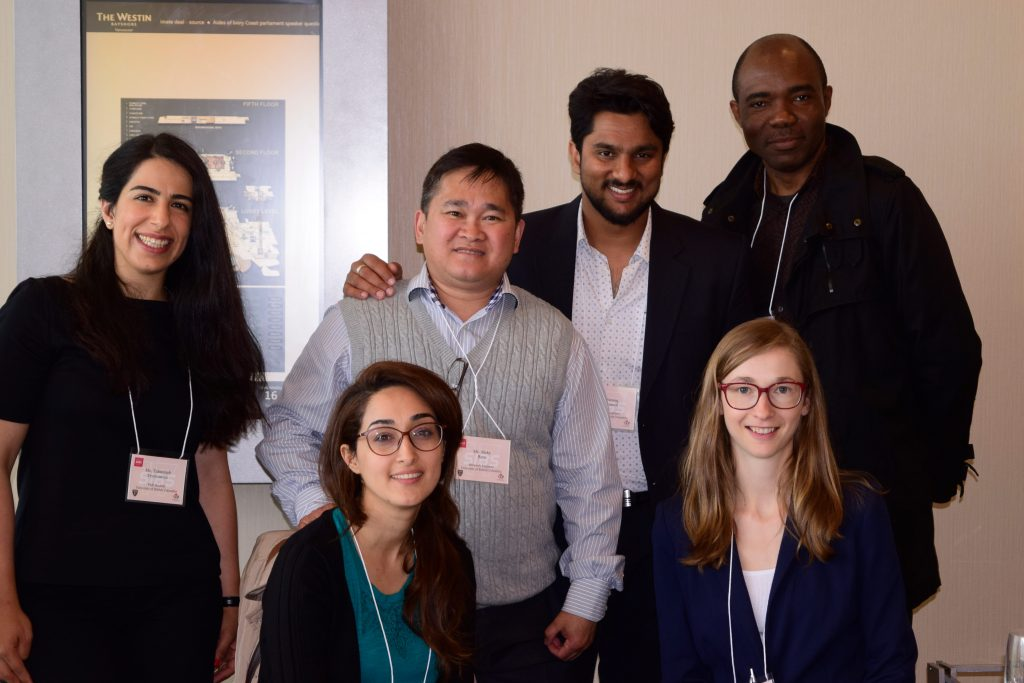 HQP group photo at SIBS - HQP Leadership Workshop, McGill, May 2017