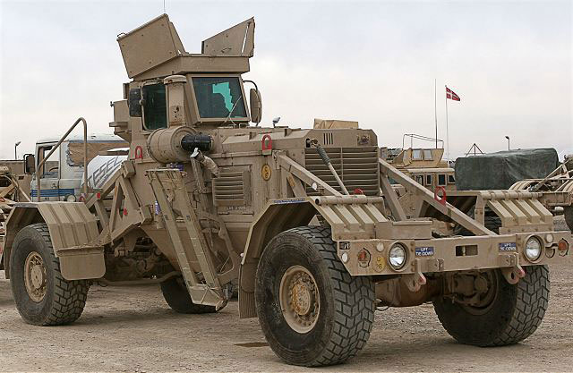 military gov Husky Chubby System wheeled mine detection clearing vehicle United States American US Army 640 001