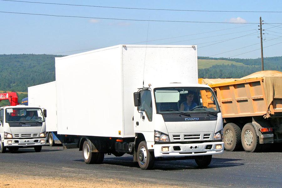 bigstock Isuzu Nqr 78013688