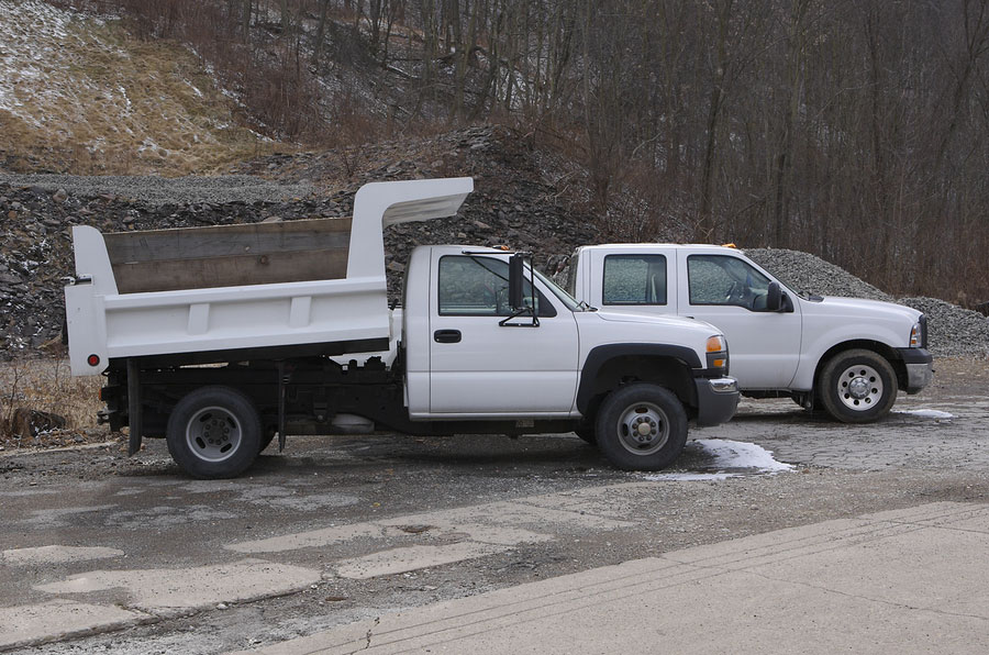bigstock Work Trucks 432939