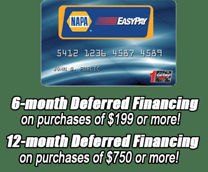 napa easy payV2