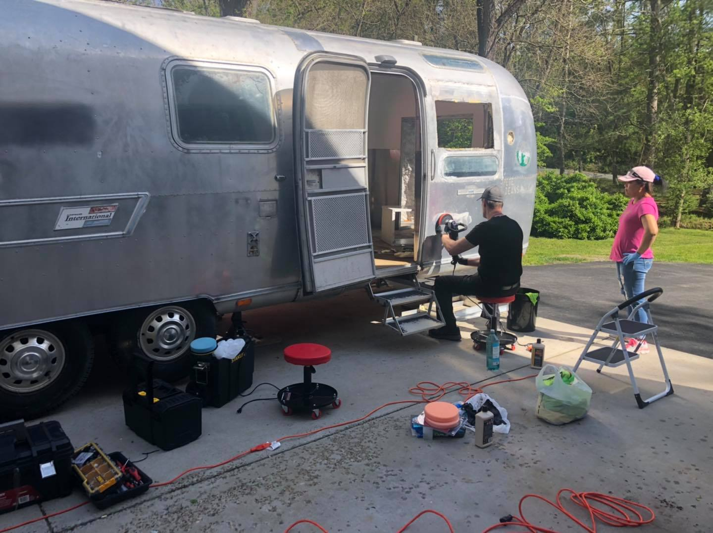 airstream foodtruck oyster bar