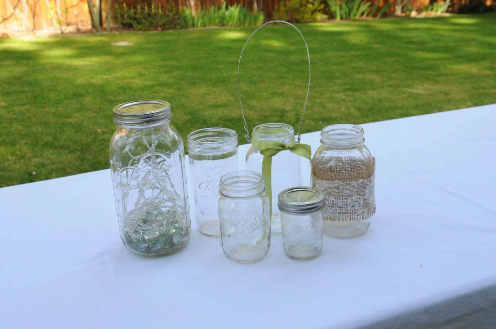 Assorted Mason jars .50-$3