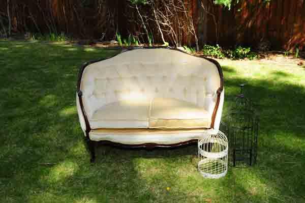 Vintage Love Seat
